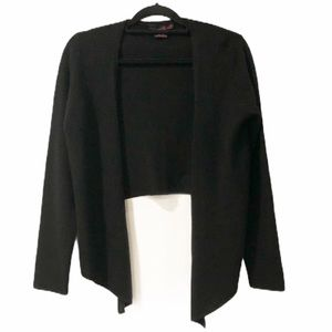 Willi Smith Cashmere Waterfall Cardigan Sweater